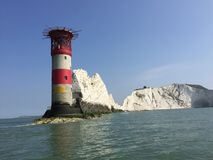 Phare d'aiguilles image stock