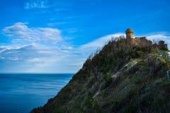 Phare d'Ancona Photographie stock libre de droits