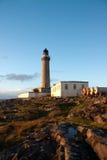 Phare d'Ardnamurchan dans le secteur scotish Kilchoan photographie stock