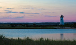 Phare d'Edgartown de Martha's Vineyard Image stock