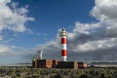 Phare d'EL Toston, Fuerteventura Images stock