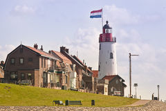 Phare d'Urk, Hollandes Photographie stock