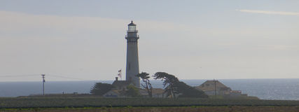 Phare dans Big Sur Photo stock