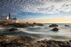 Phare dans Cabo Raso, Portugal Images stock
