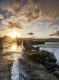 Phare dans l'Australie de Wollongong images stock