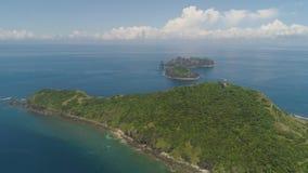 Phare dans l'engano de cap Philippines, île de Palaos Photos libres de droits