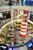 Phare dans le centre commercial du terminal 21 Photo libre de droits