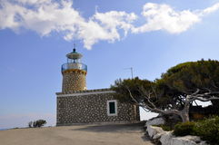 Phare dans Zakynthos Photos stock