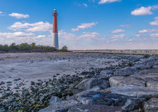 Phare de Barnegat, New Jersey Images libres de droits