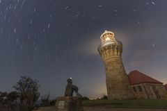 Phare de Barrenjoey image libre de droits