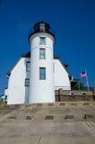 Phare de Betsie de point, Michigan image libre de droits