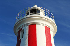 Phare de bluff du Mersey, Tasmanie, Australie Images stock