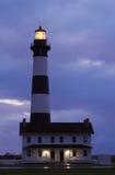 Phare de Bodie Island avant lever de soleil images libres de droits