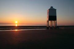 Phare de Burnham-sur-Mer Images libres de droits