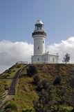 phare de byron de compartiment Photographie stock