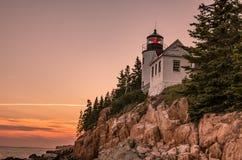 phare de côte rocheux photo libre de droits