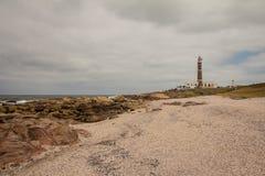 Phare de Cabo Polonio Photographie stock libre de droits