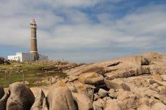 Phare de Cabo Polonio Images libres de droits