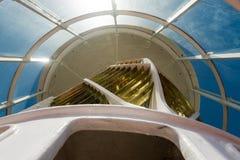 phare de cap d'agulhas de l'Afrique du sud Images stock