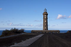 Phare de Capelinhos Photo libre de droits