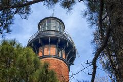 Phare de Currituck Photos stock