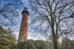 Phare de Currituck Image libre de droits