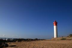 Phare de Durban Photos libres de droits