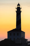 Phare de Fasvaritx Photographie stock