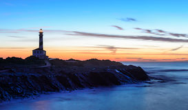 Phare de Favaritx Photographie stock