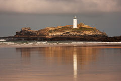 Phare de Godrevy Photo libre de droits