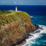 Phare de Kilauea Photographie stock libre de droits