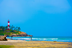 Phare de Kovalam Image libre de droits