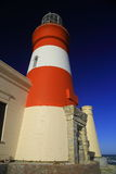 Phare de L'Agulhas de cap (iii) Photos stock