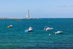 Phare de l'Ile Vierge Royalty Free Stock Photos