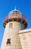 phare de l'Irlande de howth de port photo libre de droits