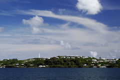 Phare de la côte de Gibb, Bermudes Image libre de droits