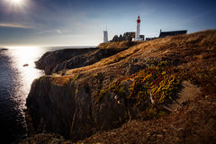 Free Phare De La Pointe Saint Mathieu, Brittany, France Royalty Free Stock Photos - 64614048
