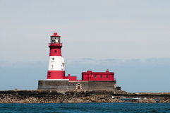 Phare de Longstone Photo stock