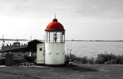 Phare de Marken Photos stock