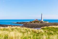 Phare de marys de St photographie stock libre de droits