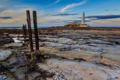 Phare de marys de St Photos libres de droits
