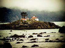 phare de plage Photographie stock