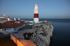 Phare de point d'Europa Image libre de droits