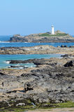 Phare de point de Godrevy Photos libres de droits