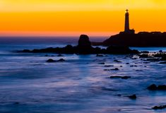 Phare de point de pigeon Photographie stock libre de droits