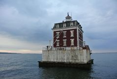 Phare de point de saillie, CT Photo stock