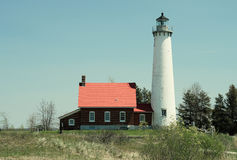 Phare de point de Tawas, construit en 1876 photos libres de droits