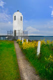 Phare de point du ` s de Brown, Tacoma, Washington State Photographie stock