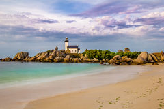 Phare de Pontusval Royalty Free Stock Photos