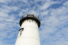 Phare de port d'Edgartown, Martha's Vineyard Image stock